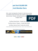 Jakarta Barat - Taruhan Bola Daftar Gratis Bonus 50ribu Rupiah