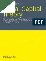 2010 Häuberer, Julia - Social Capital Theory