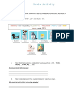 Secret Life of Pets -Comparatives and Superlatives (1ESO)