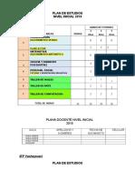Plan Estudios Yw 2018
