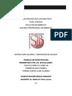 CLIMA LABORAL  EN EL PODER JUDICIAL DE CHINCHA