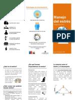 Triptico_Manejo Del Estrés