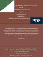 INCLUSIÓN EDUCATIVA, ANÁLISIS DE SU ROL EN.pptx