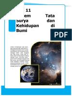 Bab 11 Sistem Tata Surya Dan Kehidupan Di Bumi