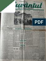 Cuvantul anul XVII (serie noua) nr. 12, 25 oct. 1940