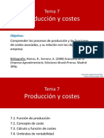 Tema 7. Producción y Costes - Moodle UPM