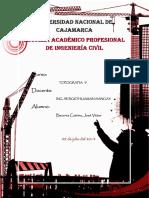 235509534 Informe de Altimetria y Nivelacion