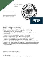 FY19 Budget Presentation PP