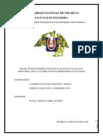 Proyecto de Inversión Para Instalación de Planta de Fabricación de Herramientas de Corte 2