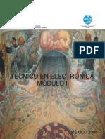 guía de docente  eléctrica y electrónica