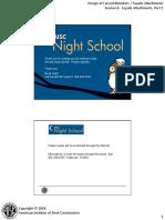 Night School 17 Session 5