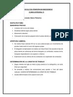 Protocolo para el Tx. de Endodoncia