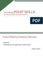 3 - Leadership Skills