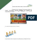 Carta Compromiso Para Niños