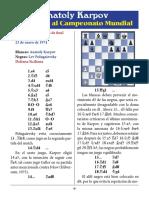 4- Karpov vs. Polugaevsky