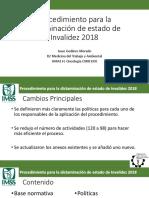 Procedimiento para la dictaminación de estado de Invalidez.pptx
