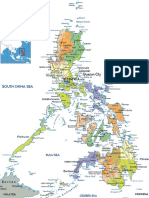 Political Map of Philippine