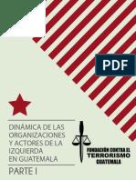 Dinamica de Las Organizaciones y Actores de La Izquierda en Guatemala - Ricardo Mendez