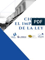 CICIG y El Imperio de La Ley en Guatemala