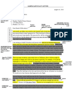 persuasion letter model  9th