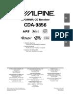 CDA9856 Manual