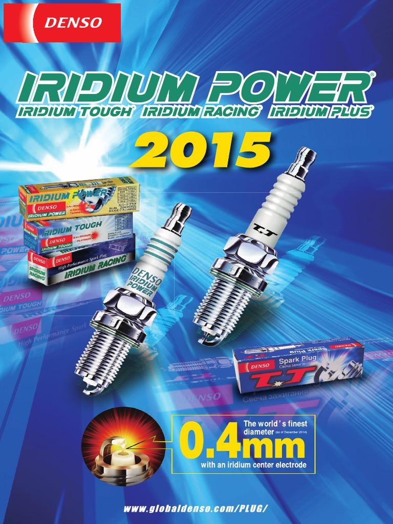 4x Mazda 323 MK3 1.5 Genuine Denso Iridium Power Spark Plugs