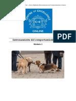 Comportamiento Canino - Módulo 3