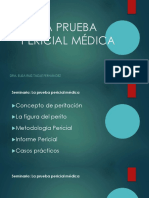 PRUEBA PERICIAL MEDICA