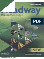 New Headway Beginner. Third Edition. Studentbook