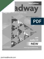 New Headway Beginner. Third Edition. Workbook