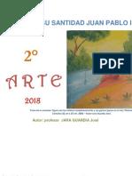 Educación Artística 2° secundaria -  Guía de práctica