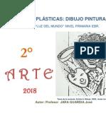 Arte y Creatividad 2° primaria -  Guía de práctica