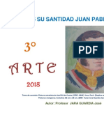 Educación Artística 3° secundaria -  Guía de práctica