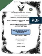 Tráfico de Sustancias Catalogadas Sujetas a Fiscalización