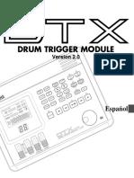 Manual Módulo Yamaha dtx español