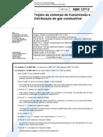 NBR 12712 - 2002 - Projeto de Sistemas de Transmissão e Distribuição de Gás CombustÃ_vel.pdf
