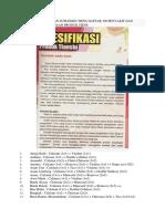 Daftar Penyakit Dan Suplemen Tiens