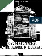 Sordi, Marta - Los Cristianos y el Imperio Romano.pdf
