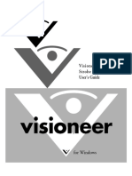 Visioneer Strobe XP 220 Scanner User's Guide
