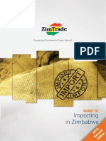 Guide to Importing in Zimbabwe