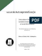 Bibliotecología y Archivistica