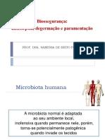 Anti-sépticos - Paramentacao 2017