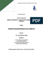 Conceptualización Del Currículo (1)