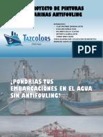 Proyecto Pinturas Marinas Antifouling .pptx