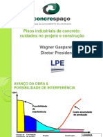 Execução e Projeto de Pisos Industriais Concreto