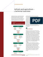 biofuels & agriculture