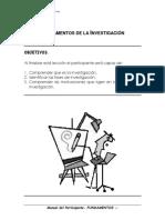 01 Manual Del Participante-Fundamentos de La Investigación