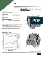 Manuales 4045DF150 de motor