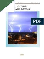 CAPITULO II. Campo Electrico