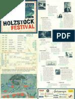 Holzstock Festival 2018 Program